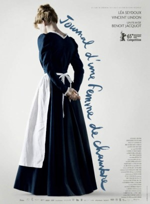 Jolie affiche du pas joli Journal d'une femme de chambre.