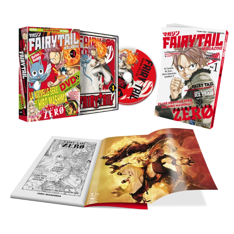 Fairy Tail Magazine édité en France