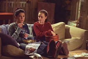 Lorelei (Lauren Graham) et sa fille Rory (Alexis Bledel