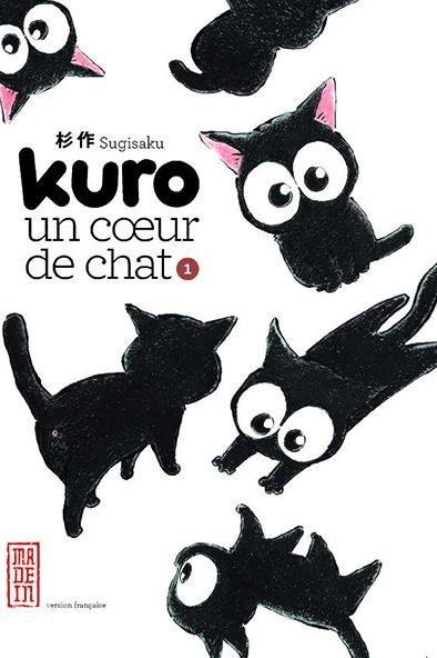 On a lu… Kuro, un cœur de chat (tome 1) de Sugisaku
