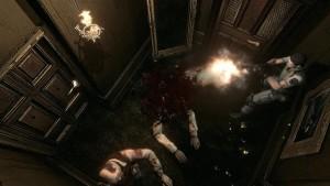 resident evil hd remaster screen