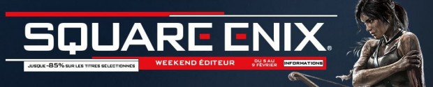 Square Enix Weekend sur Steam