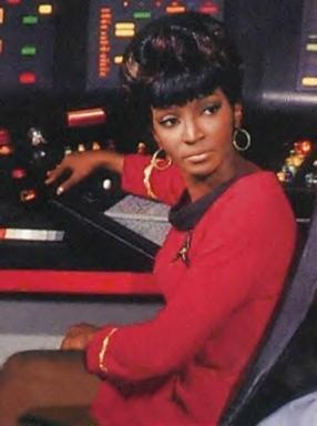 Lieutenant Uhura / Star Trek.
