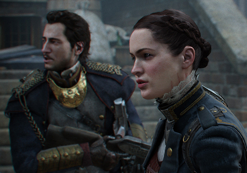 Press X to Beautiful (The Order : 1886)