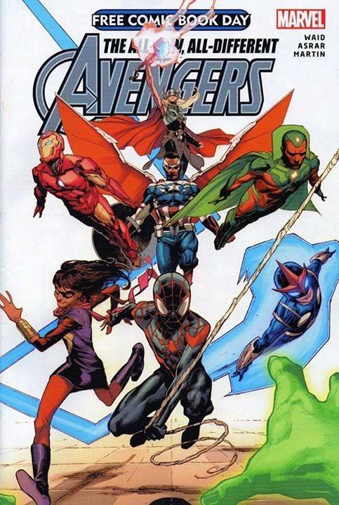 La nouvelle équipe Avengers dévoilée