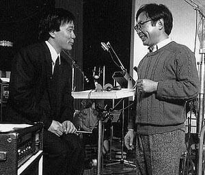 Hisaishi et Miyazaki