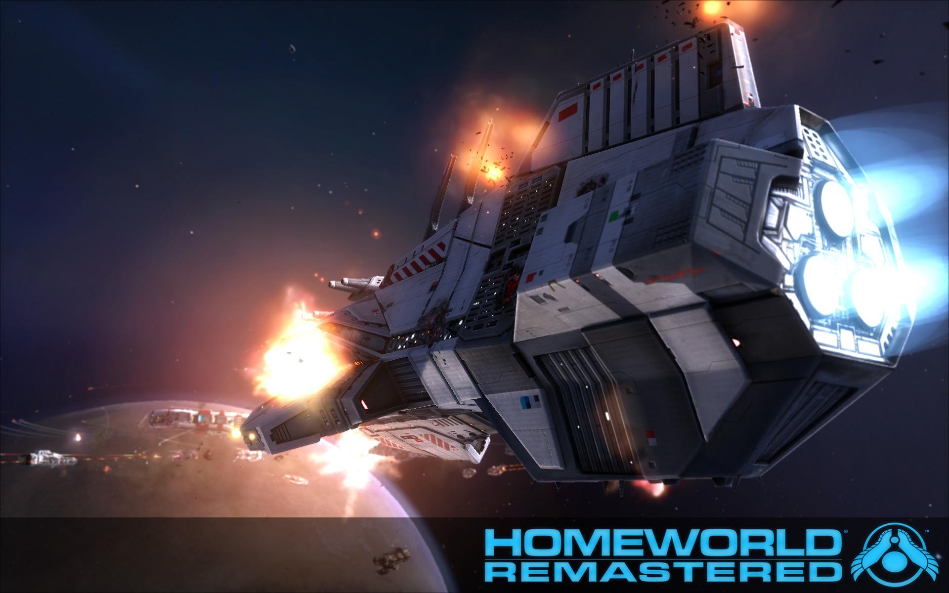 Homeworld Remastered : L'Odyssée de l'Espace