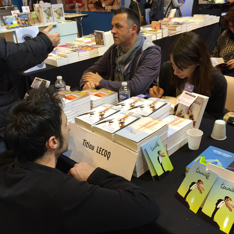Salon du livre de Paris 2015 : Jour 1