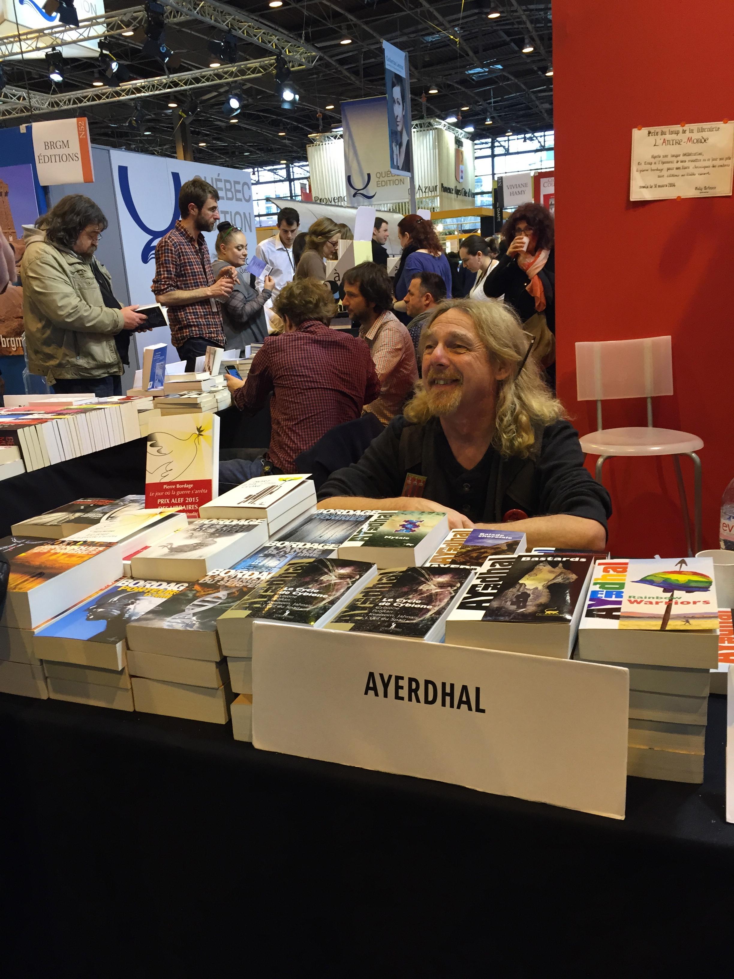 Salon du Livre de Paris 2015 : Jour 2
