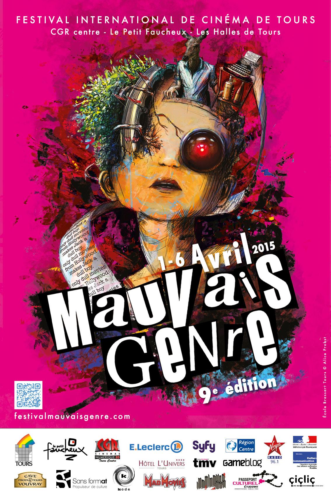 Le festival Mauvais Genre de Tours annonce son jury