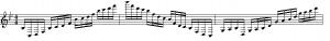 Prelude : les premières notes de cet arpège