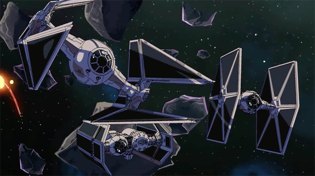 Star Wars en version anime