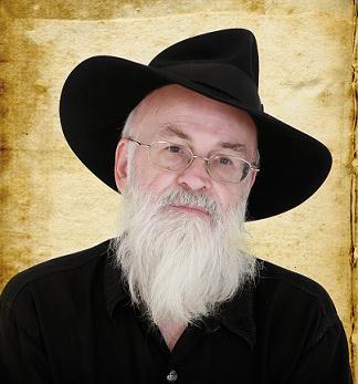 Terry Pratchett took DEATH's arm…