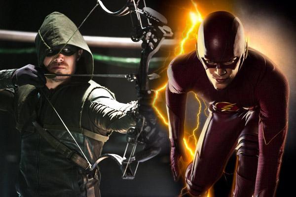 Quand Flash et Arrow se la joue Fight Club!