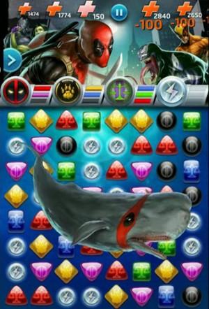 Chute de Baleines ! (Évidemment) un pouvoir de Deadpool !