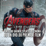 Concours Avengers L'ère d'Ultron