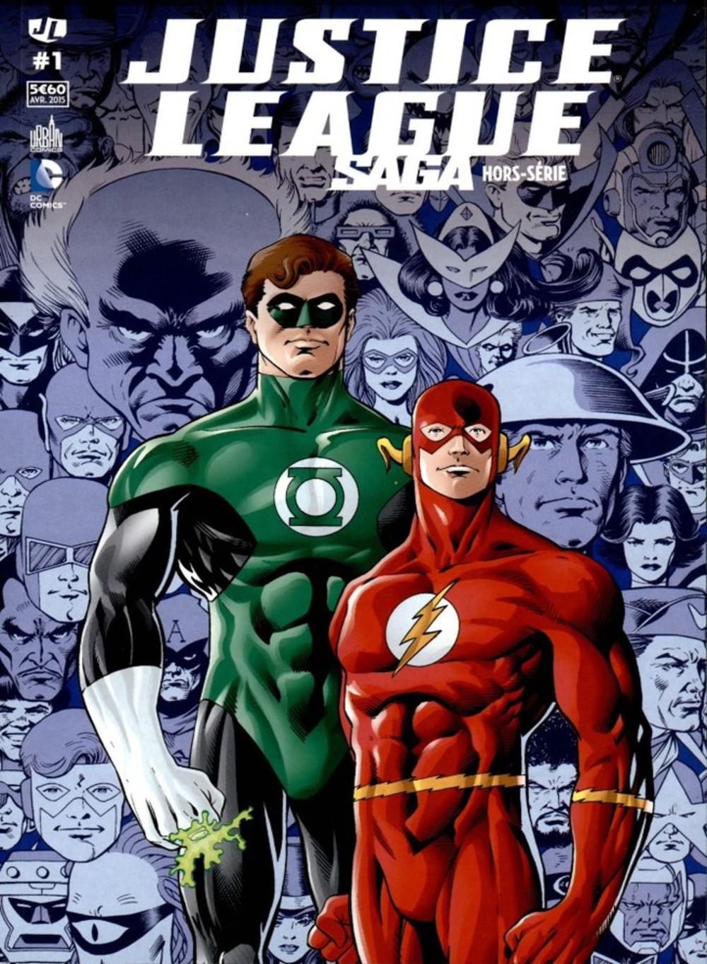 On a lu…Justice League Saga Hors-série N°1