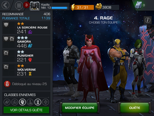 Marvel ToC team