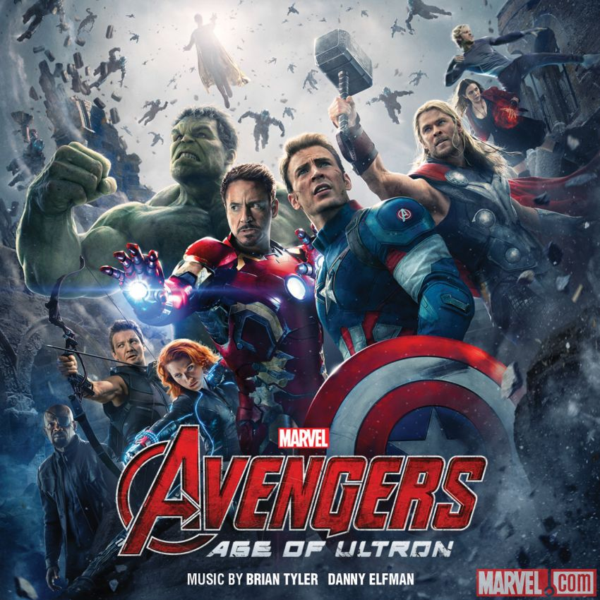 MUSIC MINI REVIEW – OST Avengers: Age of Ultron de Danny Elfman et Brian Tyler (Hollywood Records)