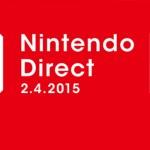 Les annonces du Nintendo Direct du 02/04/15