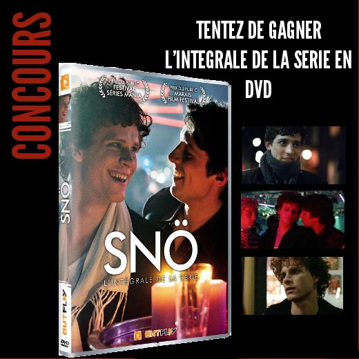 Concours : gagnez 2 DVD de l'intégrale de Snö
