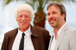 Le légendaire chef-opérateur Roger Deakins (à gauche) et Denis Villeneuve.