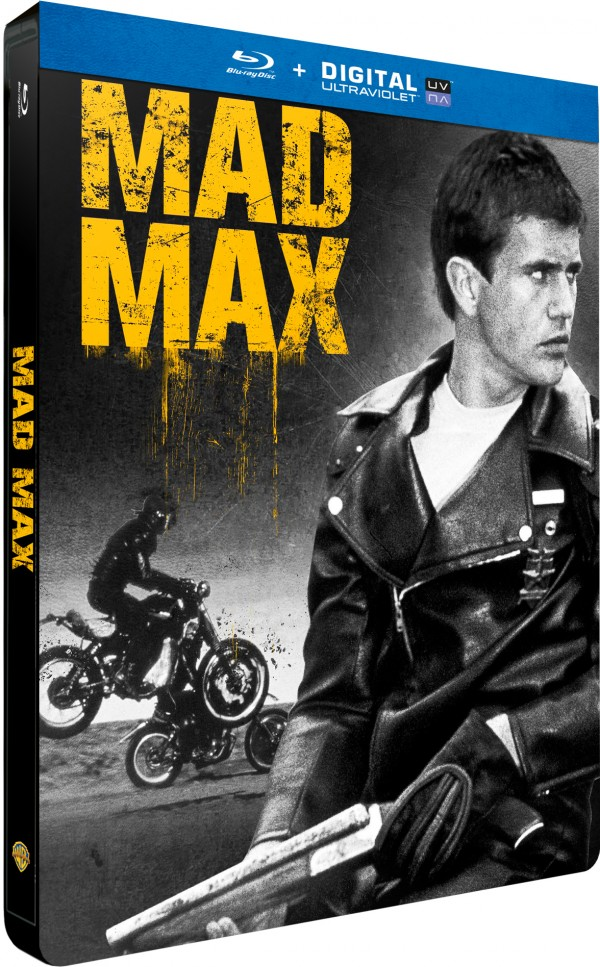 MAD MAX 1 STEELBOOK 3D