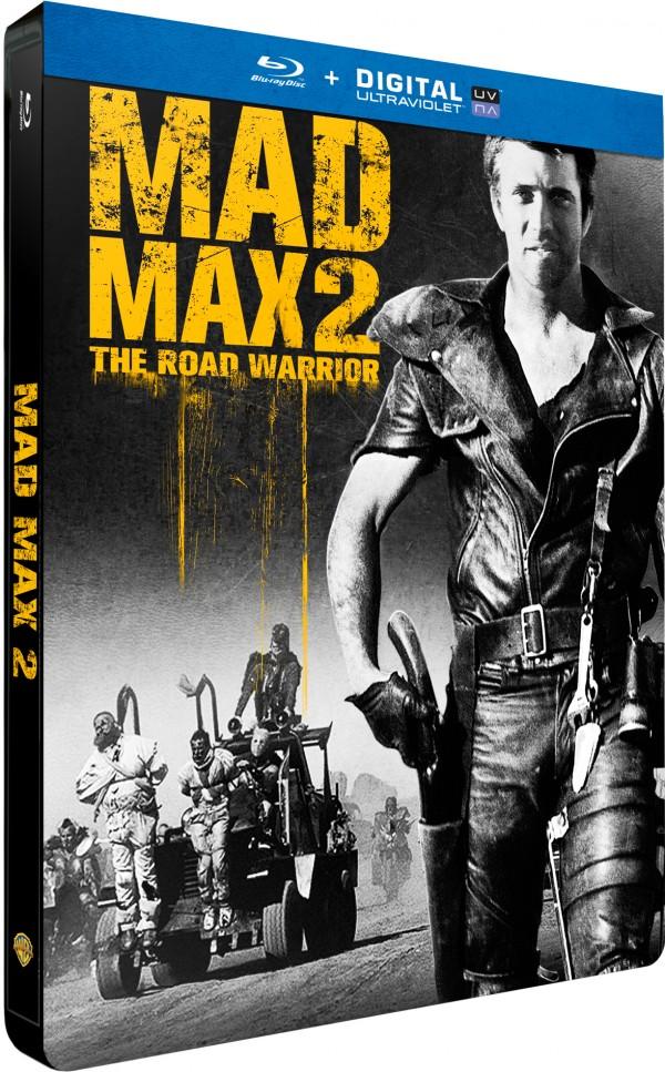 MAD MAX 2 STEELBOOK 3D