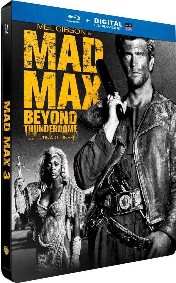 MAD MAX 3 STEELBOOK 3D
