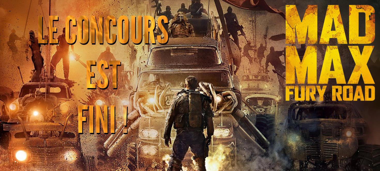 Mad Max Concours fini