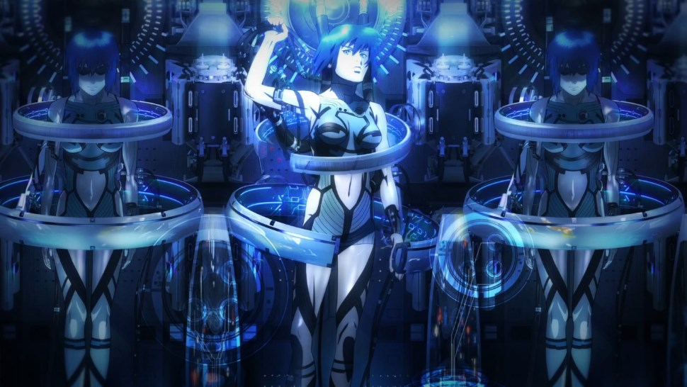 Le nouvel anime Ghost in the Shell en trailer