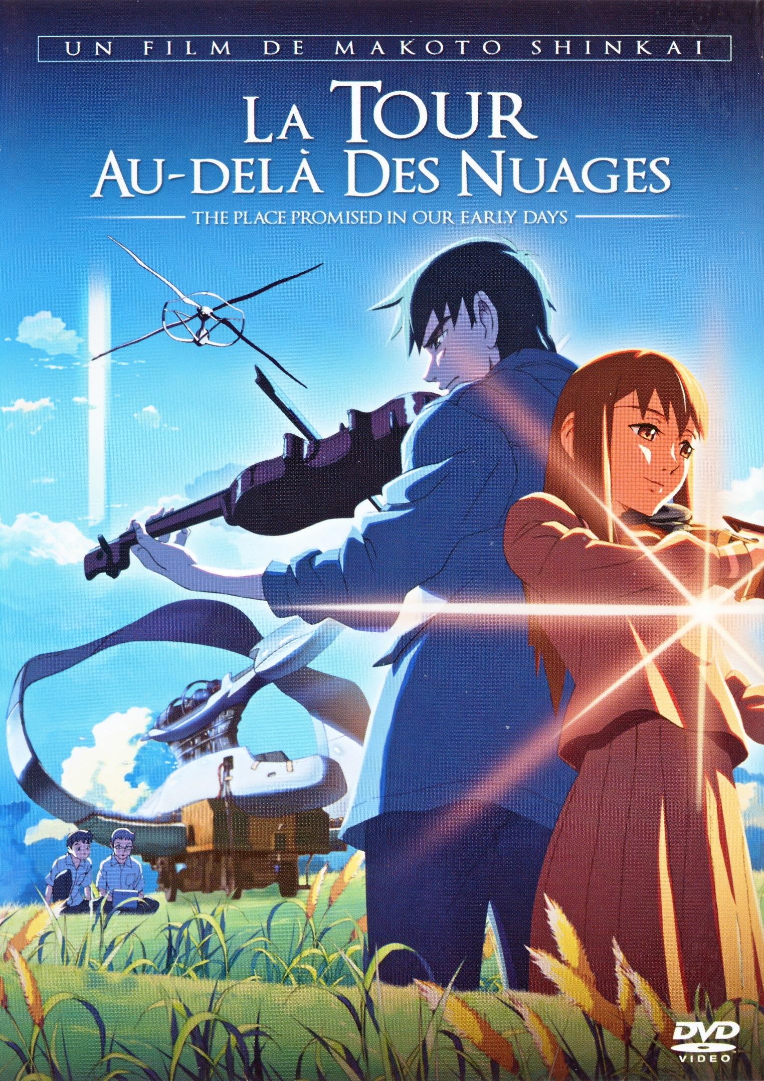 Re-Anime: La Tour au-delà des Nuages (de Makoto Shinkai)