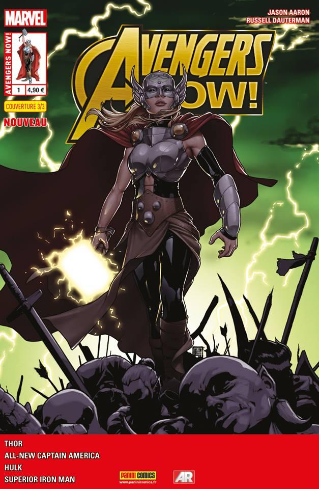 On a lu…Avengers Now n°1