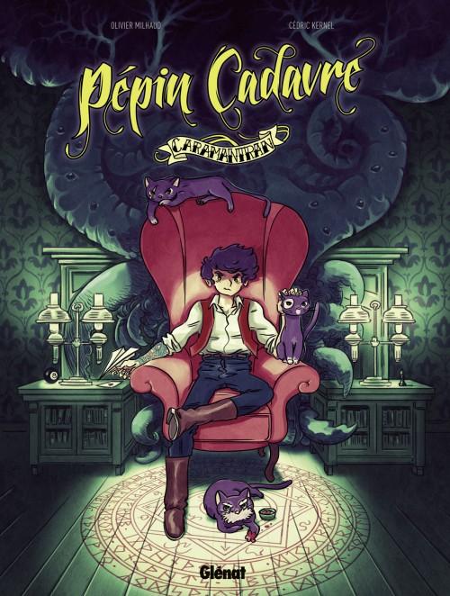 On a lu…  Pépin Cadavre (T.01) – Caramantran d'Olivier Milhaud et Cédric Kernel