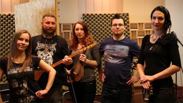 Marcin Przybylowicz et le groupe Percival