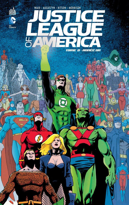 On a lu…Justice League of America – Tome 0 : Année Un de Mark Waid et Barry Kitson