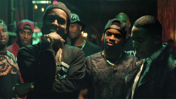 A$AP Rocky joue Dom, un des antagonistes de Malcolm, qui convoite sa copine. (Crédit : Sony Pictures)