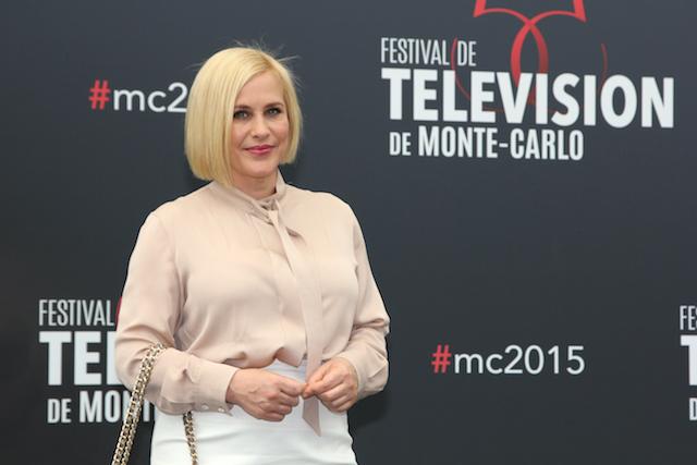 Patricia Arquette à Monte-Carlo : « J'aime l'idée de divertir grâce à la télévision »