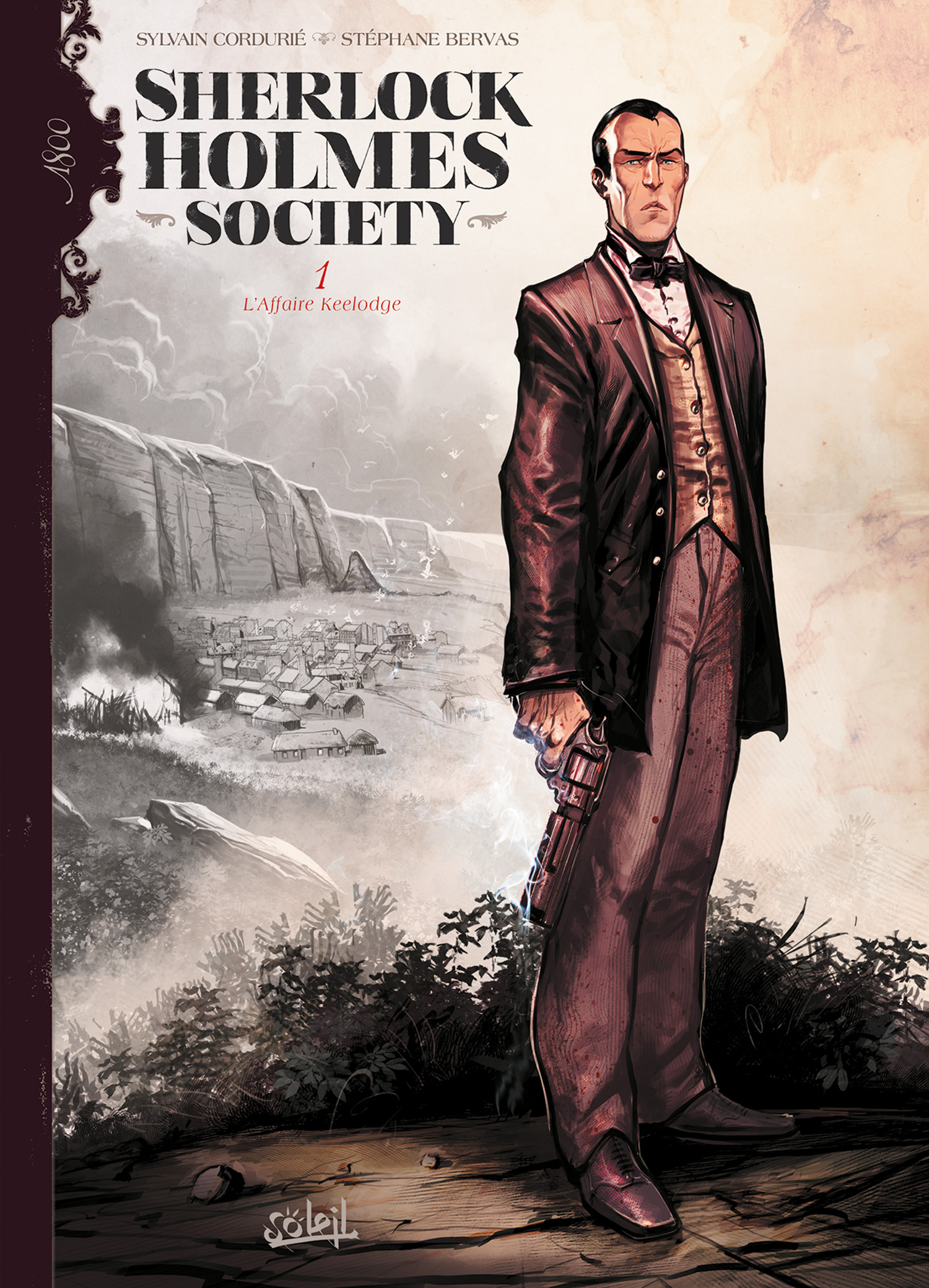 On a lu… Sherlock Holmes Society de Sylvain Corduré et Stéphane Bervas