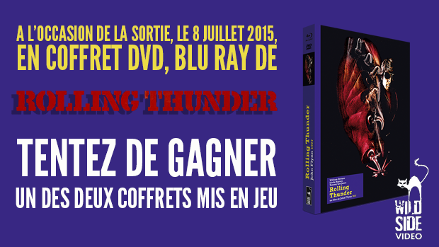 Concours Rolling Thunder : 2 coffrets DVD/BRD à gagner