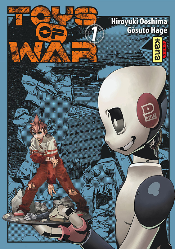 On a lu… Toys of War (T. 1) de Hiroyuki Ooshima et Gôsuto Hage