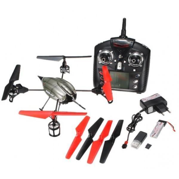 Le Space Q4 : Un drone d'engin !!