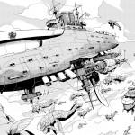 On a lu… Asebi et les aventuriers du xiel (T. 1) de Taisuke Umeki
