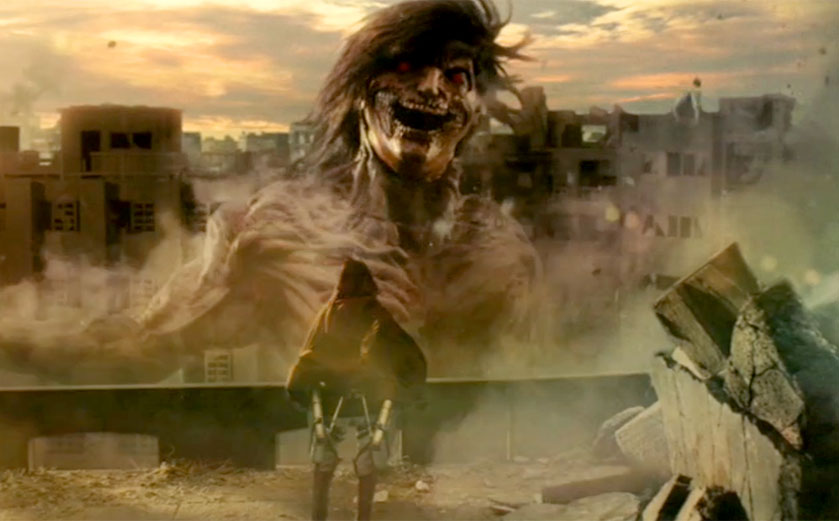 MOVIE MINI REVIEW SPECIAL : critique de Attack On Titan