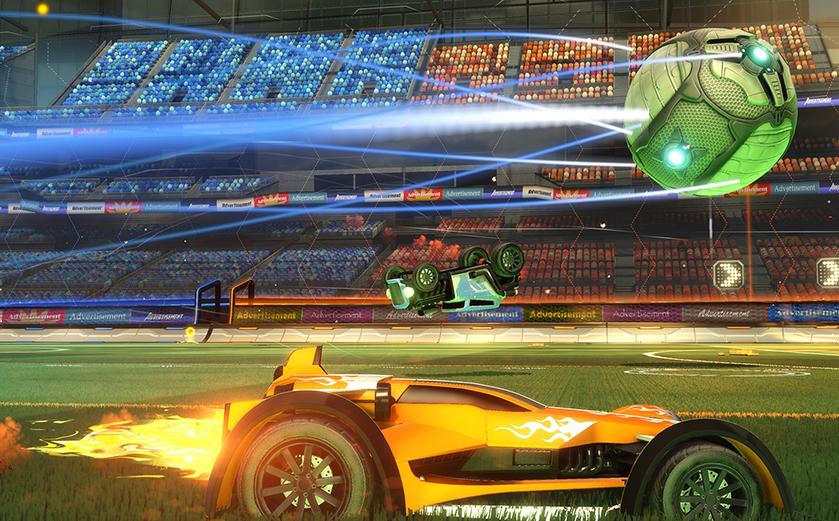 Les roues de l'infortune (Rocket League)