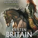 Cavalier vert : une femme et un cheval