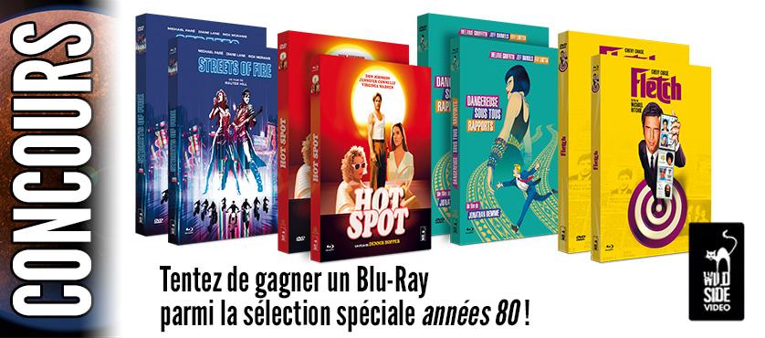 Concours : Gagnez un Blu-ray d'un film culte des années 80