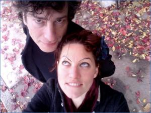 Amanda Palmer Tumblr : Amanda Palmer et Neil Gaiman.