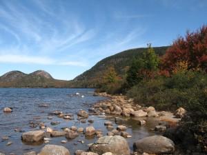 Le parn national d'Acadie a servi de référence à la Sacoridie.