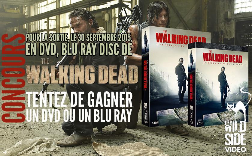 Concours The Walking Dead Saison 5